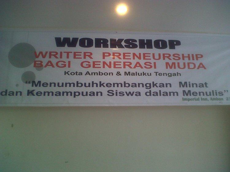 Ambon Writerpreneurship