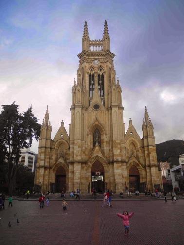 lourdes church front